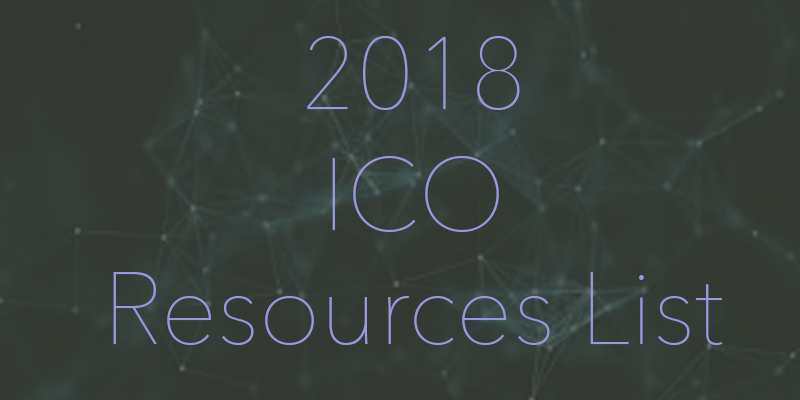 2018 ICO Resources list